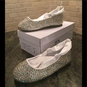 Other - Little Girl's Sparkle Shoes - Never worn